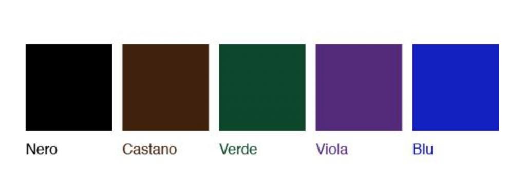 colori extension ciglia