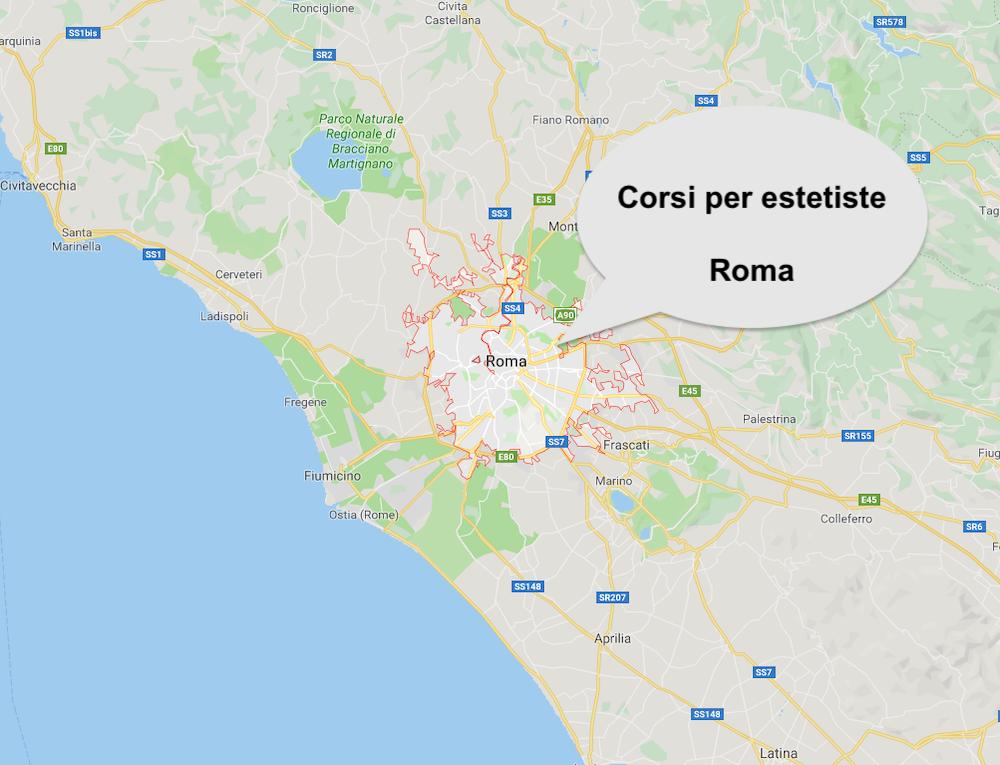 Corso estetista Roma