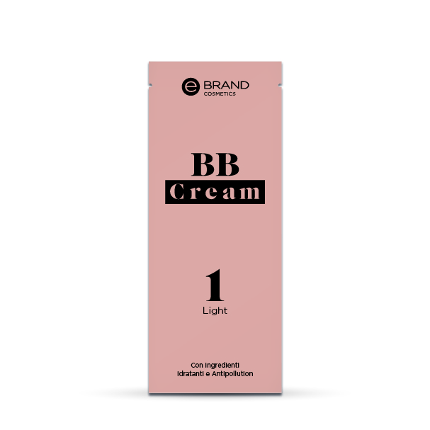 Campioncino BB Cream Light, Ebrand Cosmetics, ml. 3