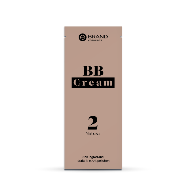 Campioncino BB Cream Natural, Ebrand Cosmetics, ml. 3