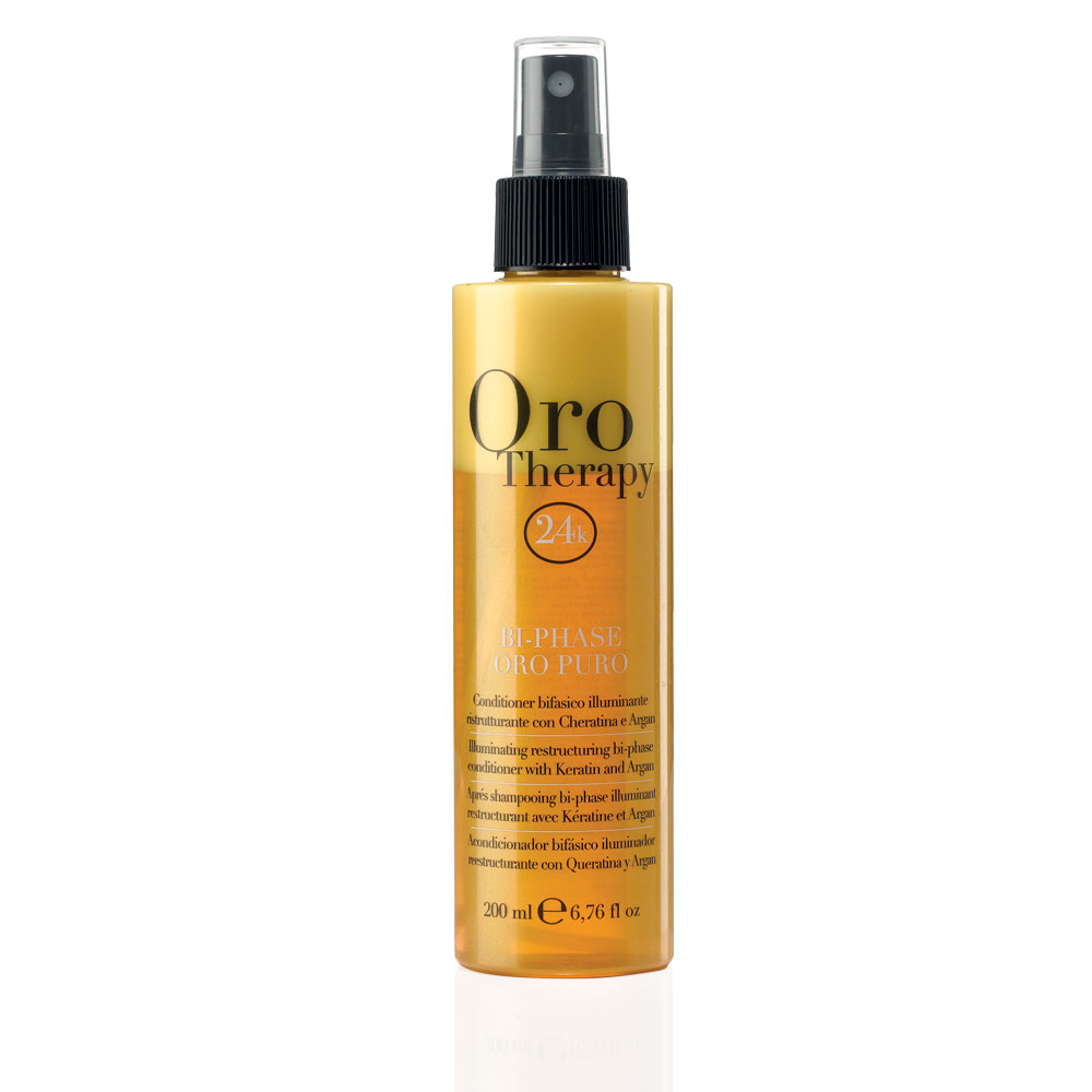 Conditioner Bifasico Illuminante, 200 ml, Oro, Oro Therapy