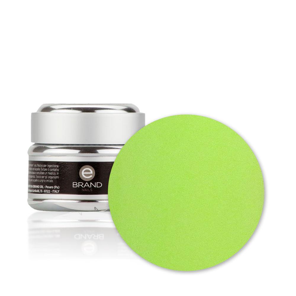 Gel unghie Verde Acido n. 73, Ginevra, Ebrand Nails