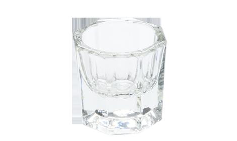 Bicchierino per Acrygel, Vetro