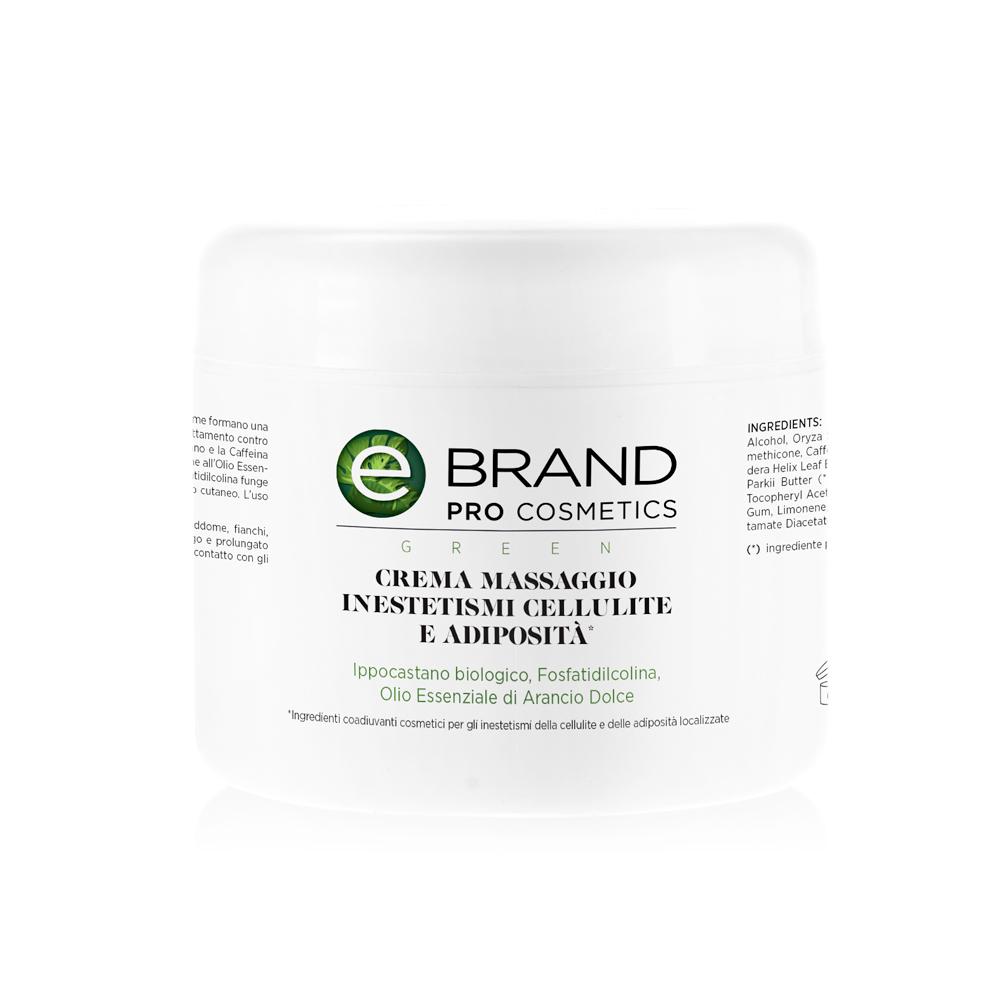 Crema massaggio corpo cellulite, 500 ml