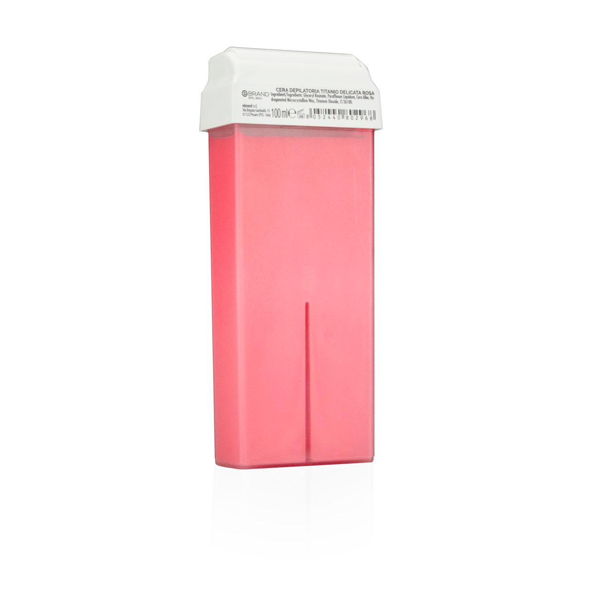 Rullo ceretta ricarica titanio rosa delicata liposolubile