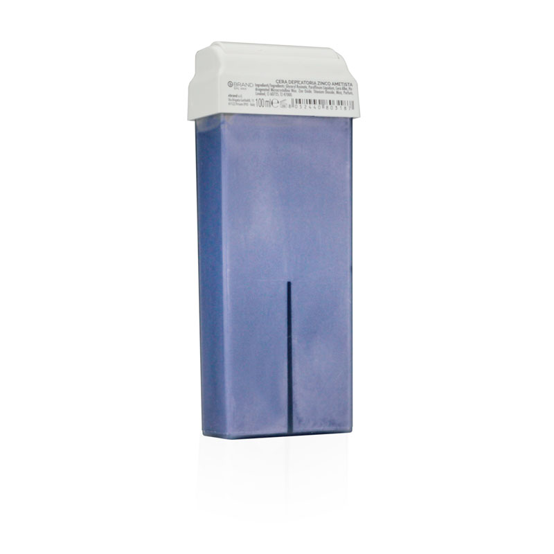 Rullo ceretta zinco ametista violet liposolubile