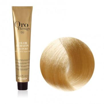 Tinta Capelli Biondo Platino Naturale 10.0 Professionale - Color Keratin - Oro Therapy