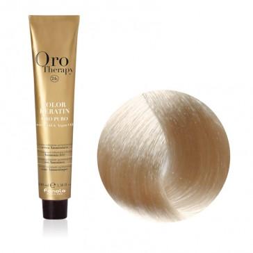 Tinta Capelli Biondo Platino Extra 10.0 Professionale - Color Keratin - Oro Therapy