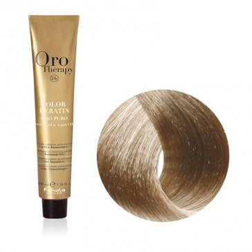 Tinta Capelli Biondo Platino Cenere 10.1 Professionale - Color Keratin - Oro Therapy
