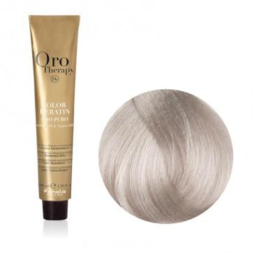 Tinta Capelli Biondo Platino Beige Extra 10.13 Professionale - Color Keratin - Oro Therapy