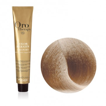Tinta Capelli Biondo Platino Dorato 10.3 Professionale - Color Keratin - Oro Therapy