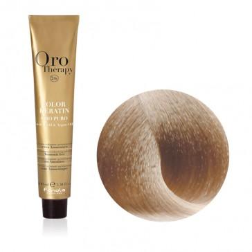 Tinta Capelli Biondo Platino Dorato Extra 10.3 Professionale - Color Keratin - Oro Therapy