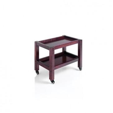 Carrello estetica 2 piani in legno Trolley Spa 2