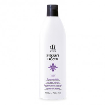 Shampoo Antigiallo Silver Star - 1000 ml - RR Real Star