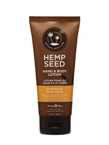 Hemp Seed, Lozione Idratante Corpo e Mani, Fragranza Dreamsicle, 207 ml