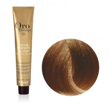 Tinta Capelli Biondo Chiaro 8.0 Professionale - Color Keratin - Oro Therapy
