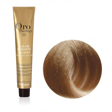 Tinta Capelli Biondo Chiaro Cenere 8.1 Professionale - Color Keratin - Oro Therapy