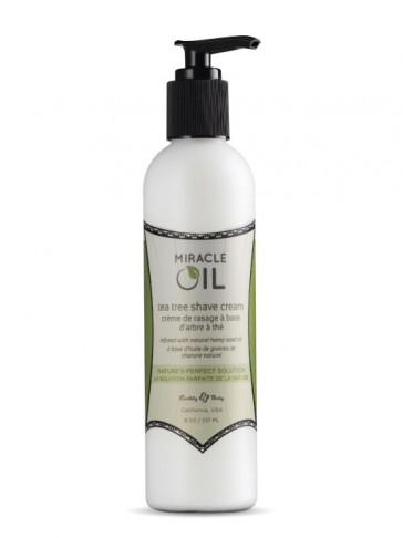 Miracle Oil Shave Cream, Crema Pre e Dopo Barba, Post epilazione, 473 ml