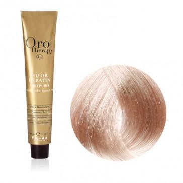 Tinta Capelli Biondo Chiarissimo Beige 9.13 Professionale - Color Keratin - Oro Therapy