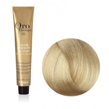 Tinta Capelli Biondo Chiarissimo Sabbia 9.31 Professionale - Color Keratin - Oro Therapy