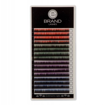 Color Lashes Two Tone - Misura Singola - Ebrand Lashes