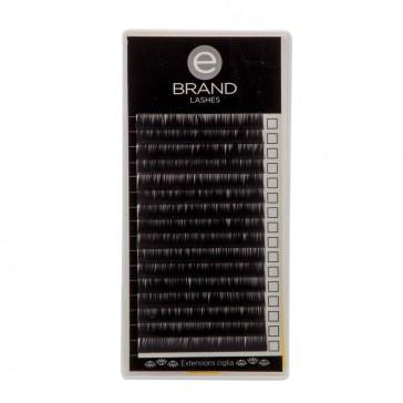 Box Extension Ciglia Nere - Flat - Misura Singola - Ebrand Lashes