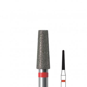 Fresa manicure a fiamma lunga diamantata Edenta, diametro 1,6 mm, 3 pezzi