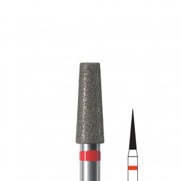 Fresa manicure a punta lancia diamantata Edenta, diametro 1,8 mm, 3 pezzi
