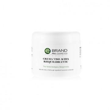 Crema viso acida per pelli impure e sensibili, vaso 250 ml