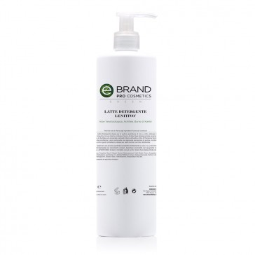 Latte detergente idratante lenitivo aloe vera, flacone 500 ml