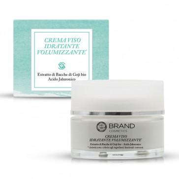 Crema Viso Idratante Volumizzante, Ebrand Cosmetics, Vaso 50 ml