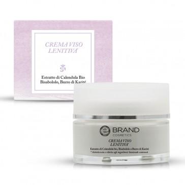 Crema Viso Lenitiva, Ebrand Cosmetics, Vaso 50 ml