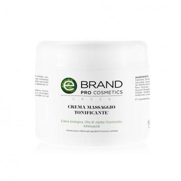 Crema massaggio tonificante, vaso 500 ml