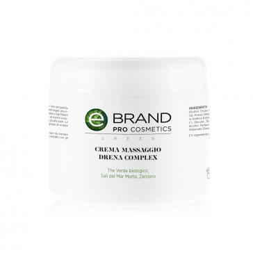 Crema massaggio corpo drenante, drena complex, vaso 500 ml