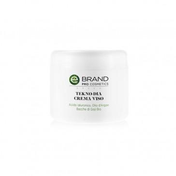 Crema viso radiofrequenza acido ialuronico e olio d'argan, vaso 250 ml