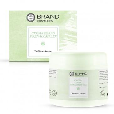 Crema Corpo Drenacomplex, Ebrand Cosmetics, Vaso 250 ml