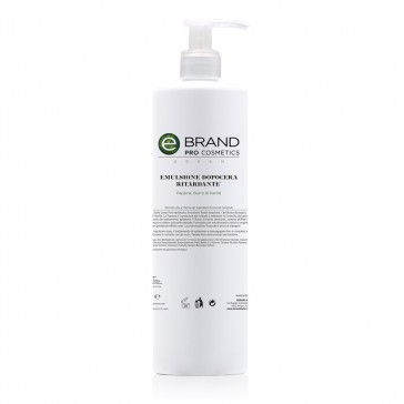 Emulsione Fluida Dopo Cera Ritardante Bio, Ebrand Pro Cosmetics, Flacone 500 ml