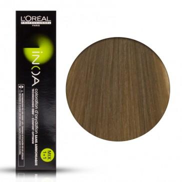 Tinta Capelli Inoa 9 Colore Professionale Biondo Chiarissimo, L'Oreal, 60 gr