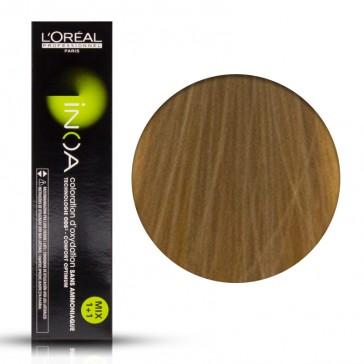 Tinta Capelli Inoa 8.3 Colore Professionale Biondo Chiaro Dorato, L'Oreal, 60 gr