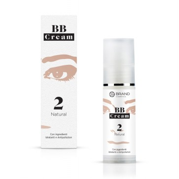 BB Cream Natural, Ebrand Cosmetics, ml. 30