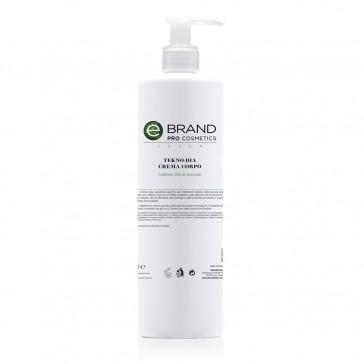 Crema corpo Tekno-Dia, ideale per radiofrequenza Ebrand Pro Cosmetics 500 ml