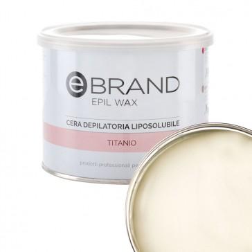Cera Depilatoria Titanio Fior di Latte - Liposolubile -  Ebrand
