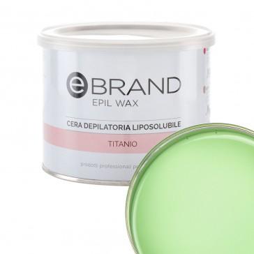 Cera Depilatoria Titanio Tea Tree - Liposolubile - Ebrand
