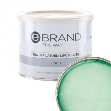 Cera Depilatoria Zinco Argan - Liposolubile -  Ebrand