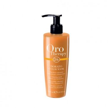 Maschera Colorante Dorato - 250 ml - Oro Therapy