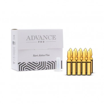 Fiale Viso Active con Vitamine Bio, Advance Pro, 10 x 5 ml