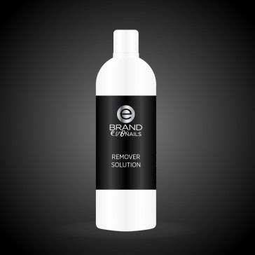 Solvente per unghie, remover solution per smalto semipermanente ml. 500