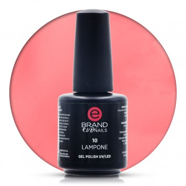 Smalto Semipermanente Rosa Corallo, Lampone Nr. 10, 15 ml, Evo Nails