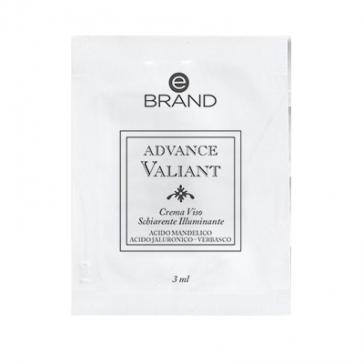 Campioncini Crema Viso Illuminante Acido Mandelico e Verbasco- Ebrand Advance