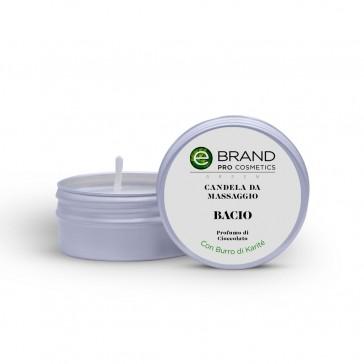 """Candela da Massaggio """"Bacio"""", Ebrand Cosmetics, 80 g"""